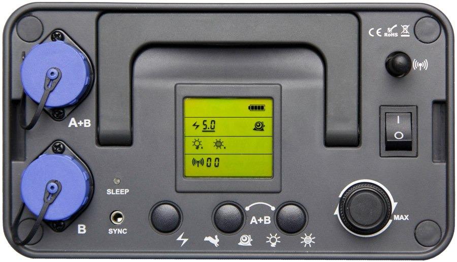 Batería flash generador Jinbei Discovery 600-II