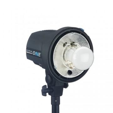 Detalle lámpras flash Elinchrome D-Lite RX One