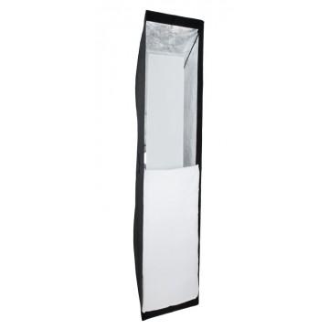 Stripbox vertical detalle con difusores
