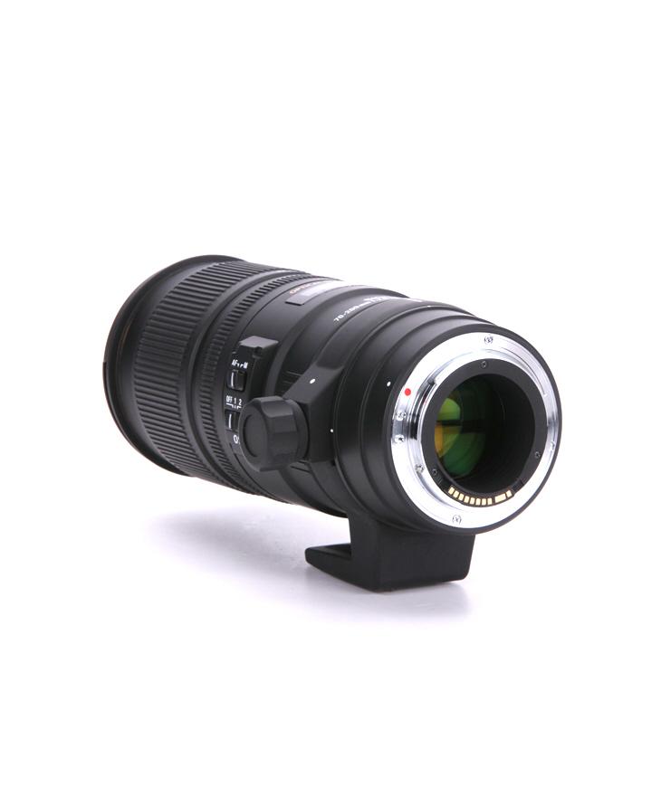 Sigma 70-200mm F2.8 EX DG APO OS HSM lateral izquierdo
