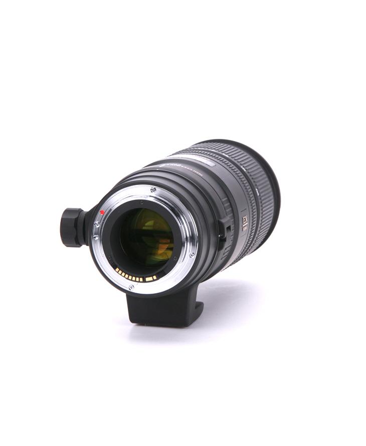 Sigma 70-200mm F2.8 EX DG APO OS HSM vista montura