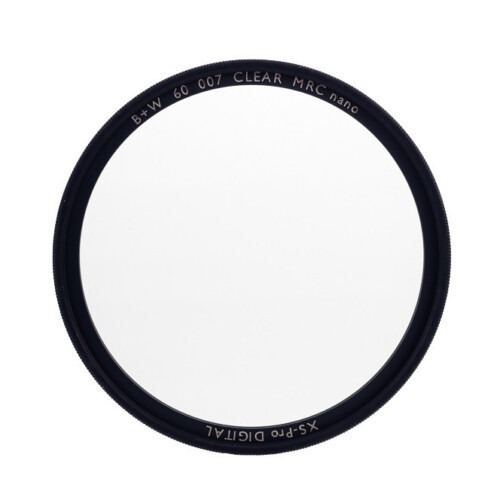 Filtro circular B+W clear XS-PRO MRC NANO vista frontal