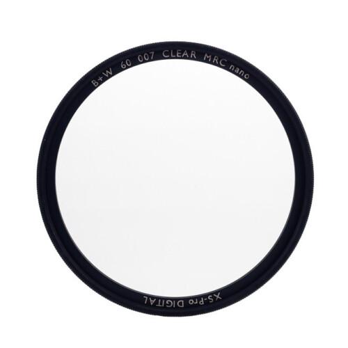 Filtro circular UV B+W XS Pro MRC vista frontal