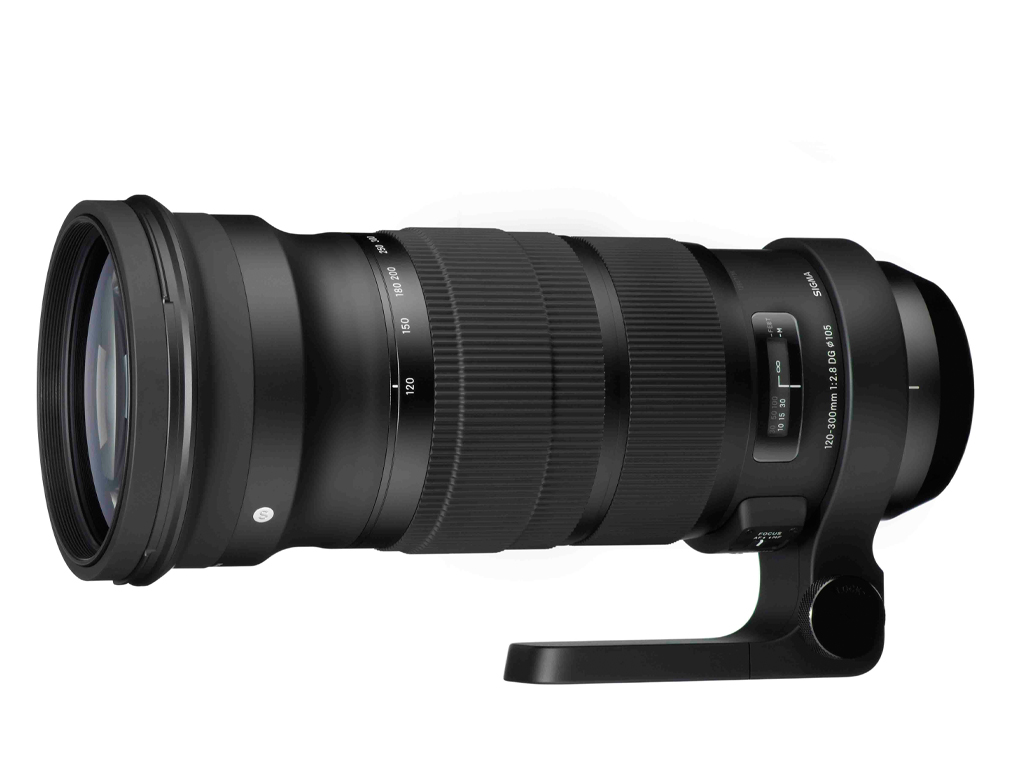 Sigma 120-300mm F2.8 DG OS HSM Sports vista lateral