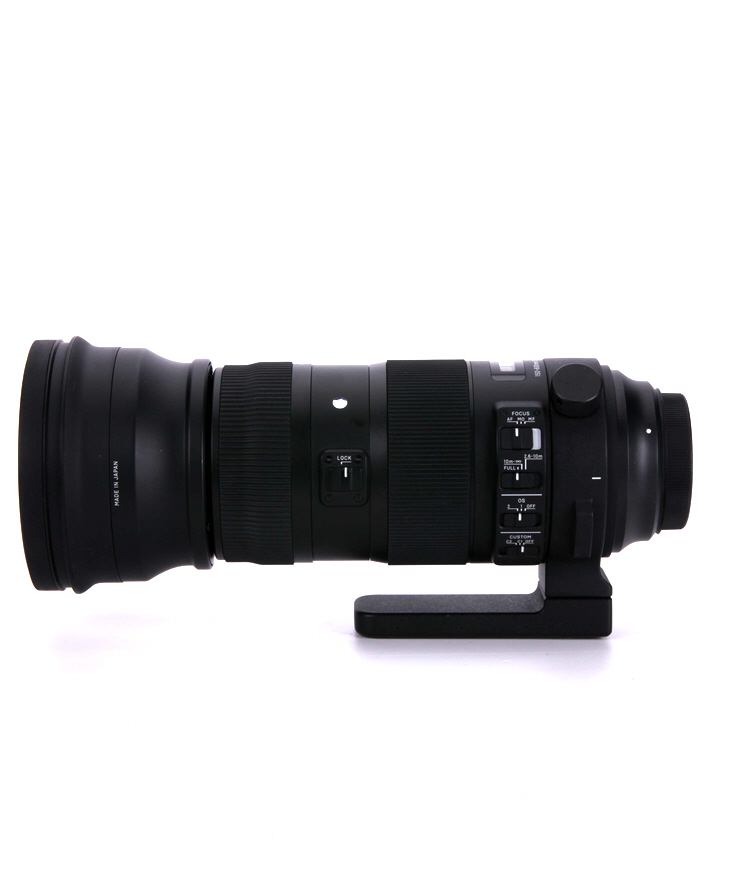 Sigma 150-600mm F5-6.3 DG OS HSM Sports vista lateral
