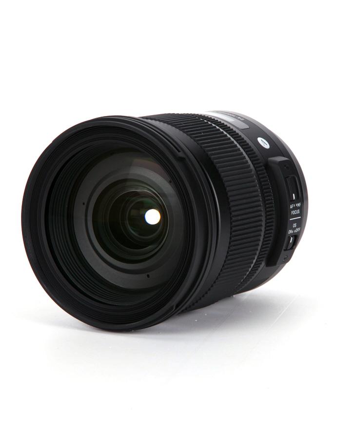 Sigma 24-105mm F4 DG OS HSM vista frontal
