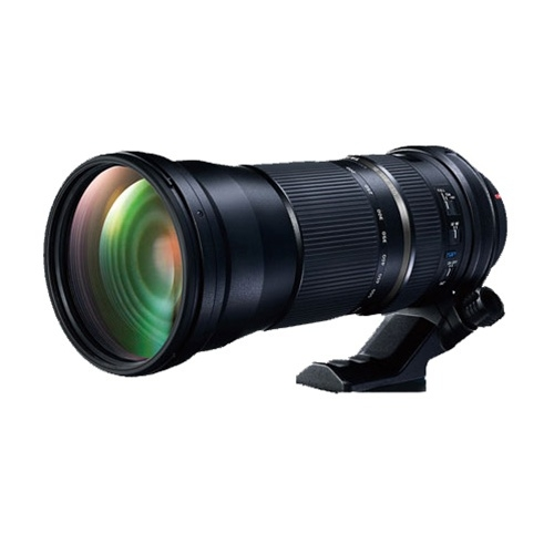 Tamron SP 150-600 F5-6.3 vista frontal