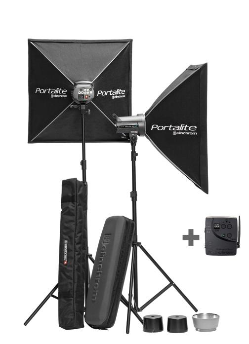 Kit flashes de estudio Elinchrom D-Lite RX-4 to go
