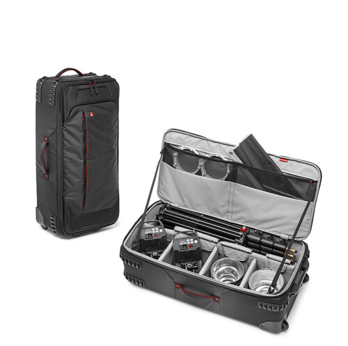 Maleta con ruedas Manfrotto Pro-Light 88-W doble vista