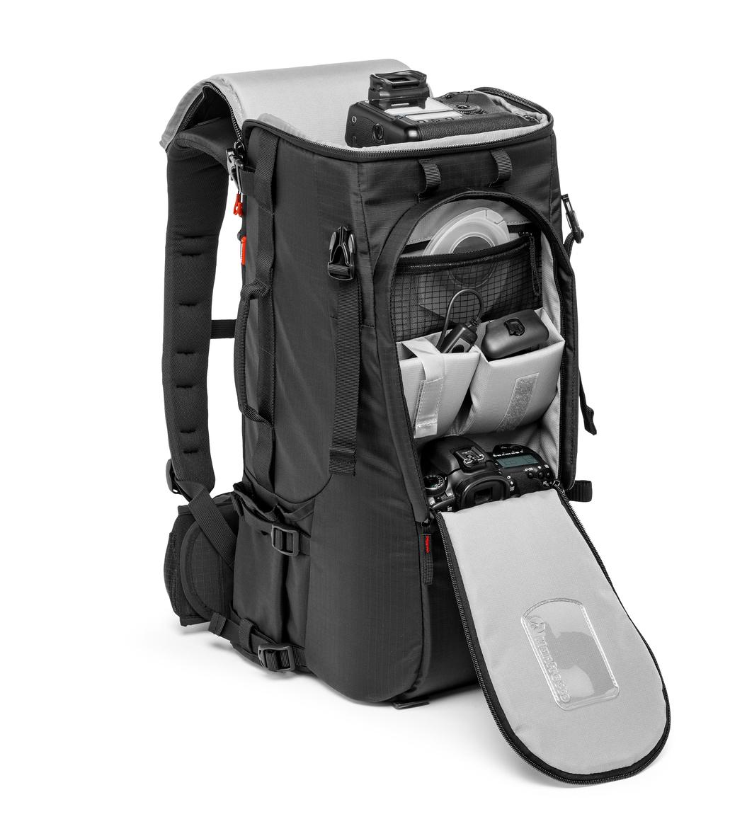 Manfrotto Pro Light TLB 600 PL Compartimentos diversos