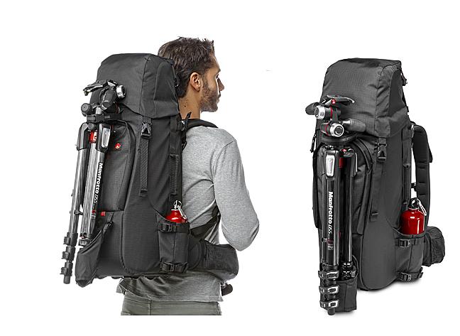 Ejemplo de uso mochila Manfrotto TLB 600 PL