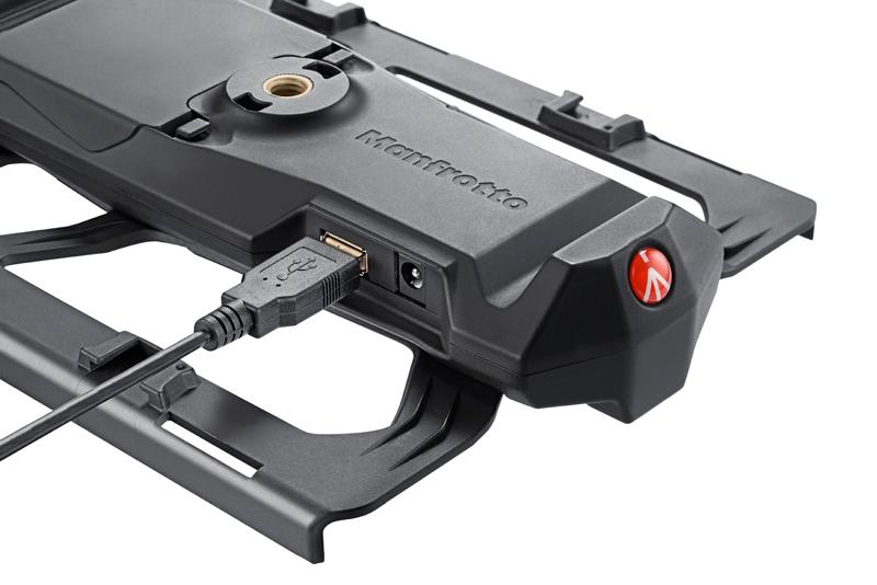 Conexión USB Apple Certified Manfrotto Digital Director