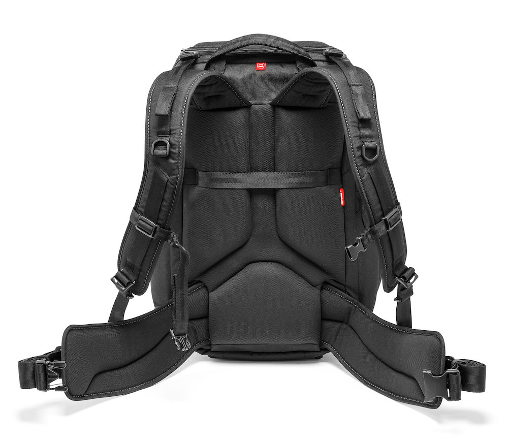 Mochila Manfrotto Professional Backpack 50 acolchada espalda