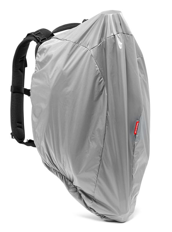 Mochila Manfrotto Professional Backpack con cubierta exterior que cubre el trípode