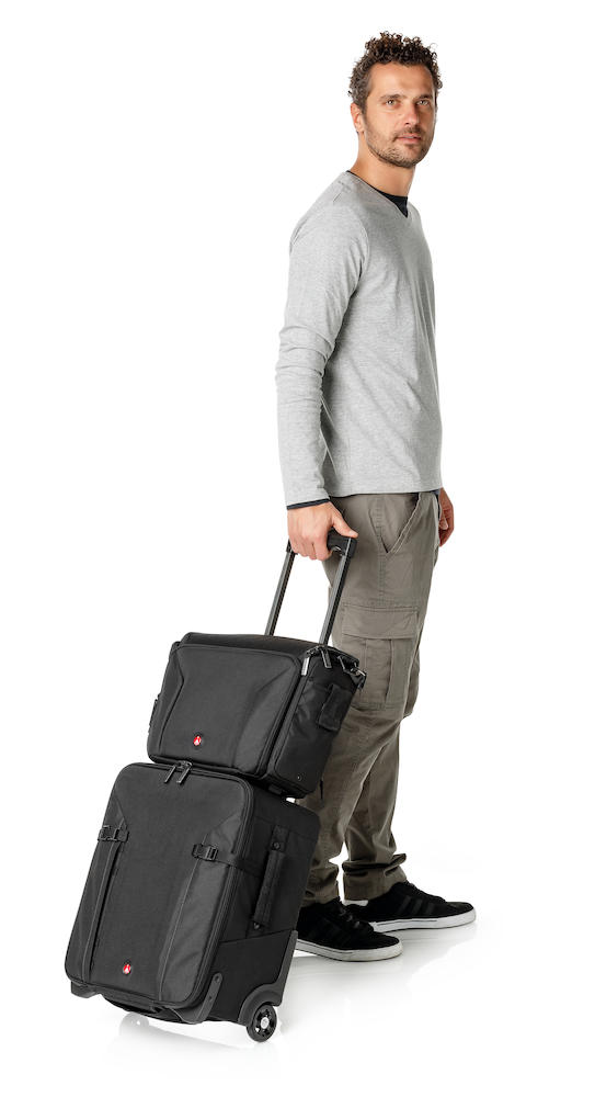 Trolley Manfrotto Professional Roller Bag 70 con bolsa opcional