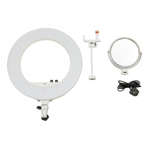 Lámpara de led Nanguang Led Ring Light bi-color contenido de la caja