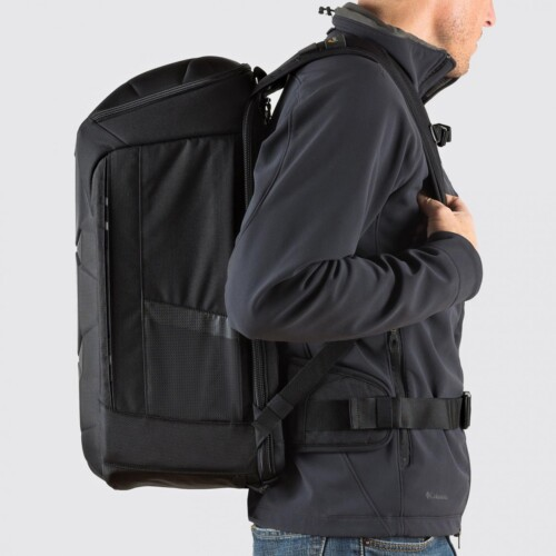 Lowepro DroneGuard BP 450 AW vista lateral
