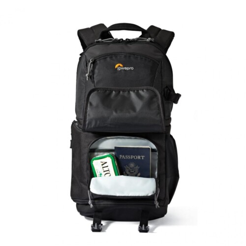 Lowepro Fastpack BP 150 AW II bolsillos traseros