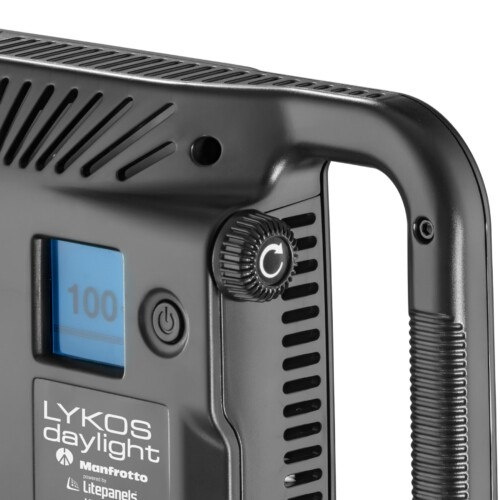 Manfrotto Led Lykos luz de día de 1600lux controlador de potencia