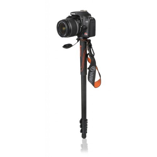 Monopié Vanguard Veo AM-204 con cámara de ejemplo