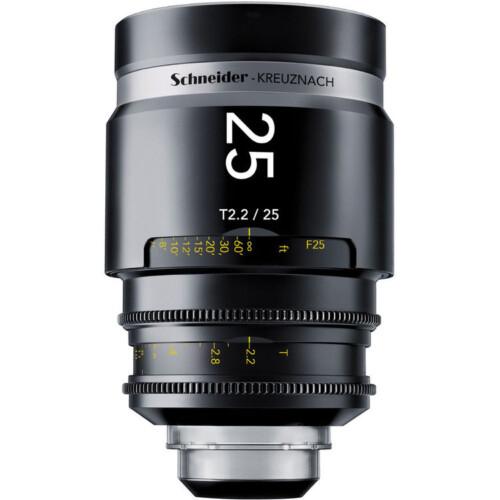 Schneider Xenar III 25mm T2.2 óptica para cine angular