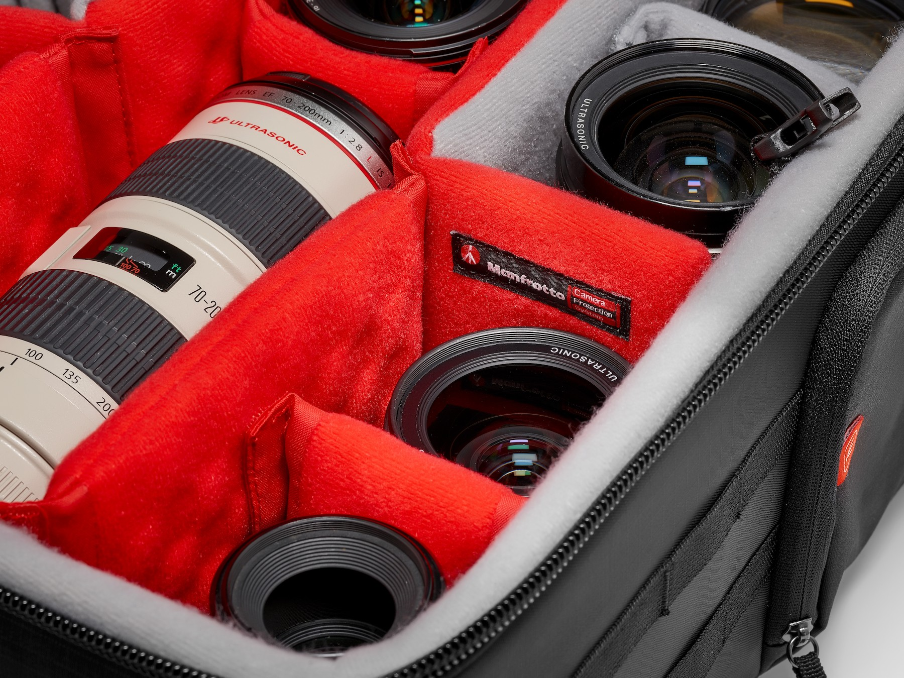 Camera protection system by Manfrotto