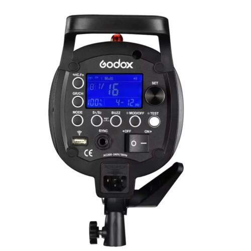 Godox QT-600 II - Detalle LCD