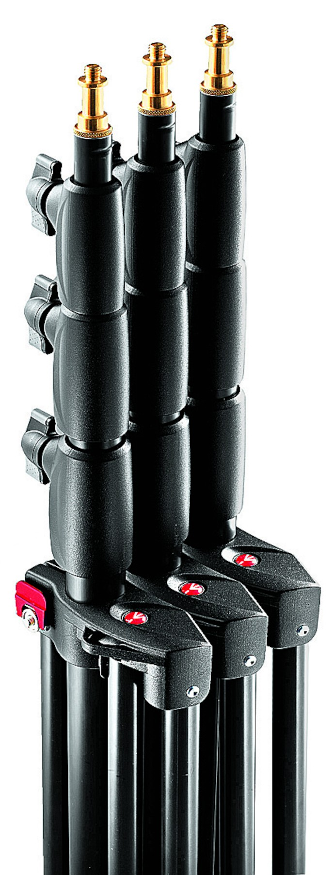 Kit 3 pies de estudio neumáticos Manfrotto Photo Master Stand Air Cushioned