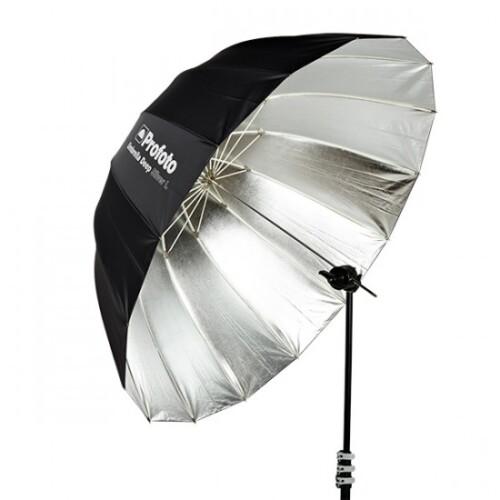Paraguas Profoto umbrella deep plateado l