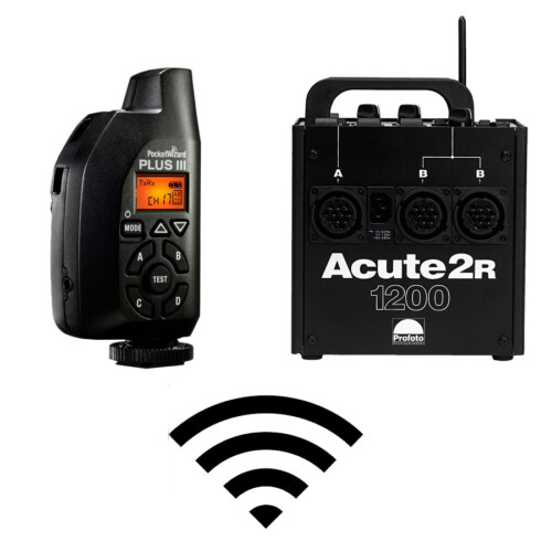 Generador Profoto Acute2 Radio + PocketWizard Plus III