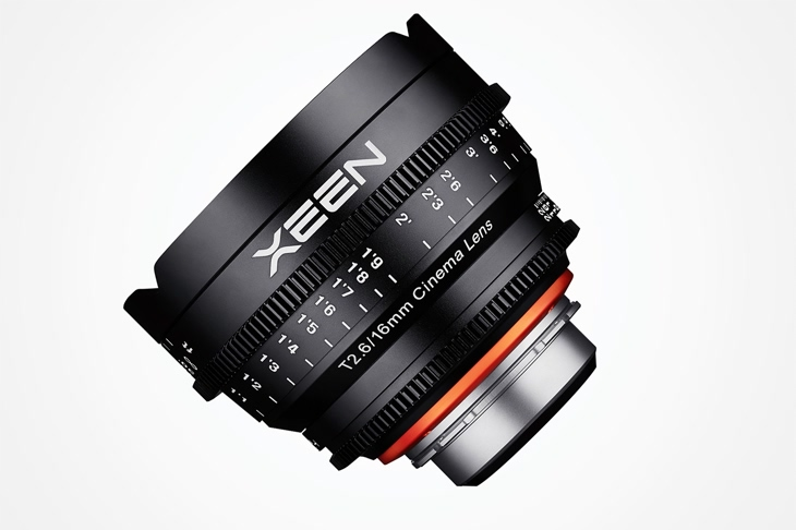 Objetivo para cine Xeen 16mm T2.6 diagonal