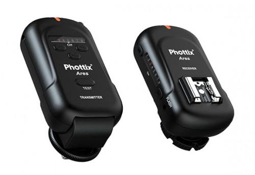 Phottix Ares pack de triggers sin complicaciones en vertical