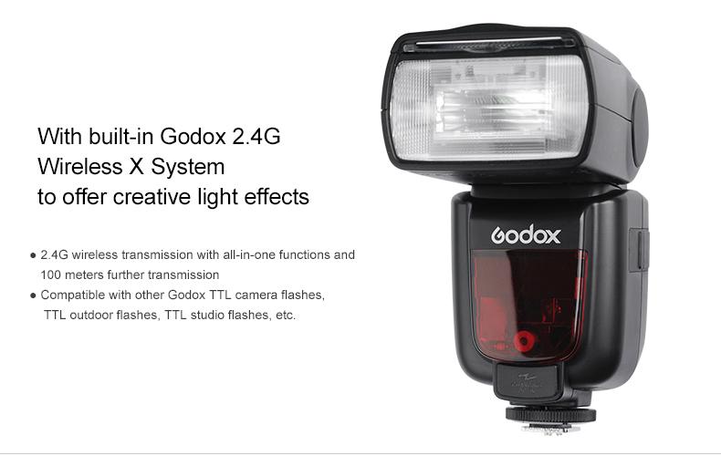 Frontal Godox TT658 Olympus