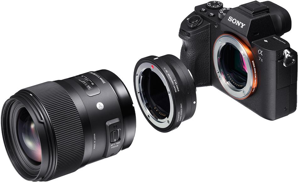 Modo de uso Sigma MC-11 en cámaras Sony E