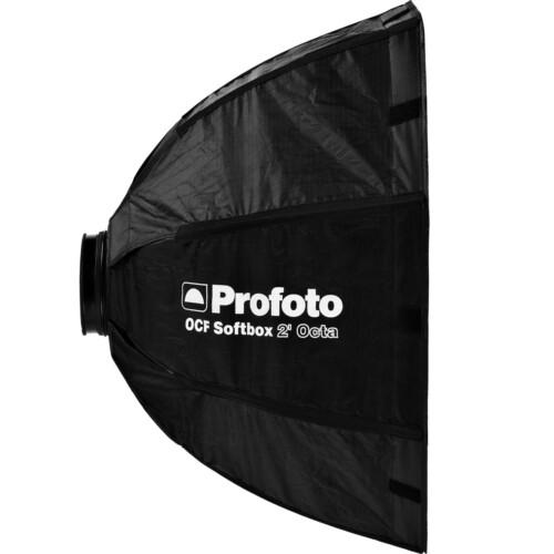 "Vista lateral ventana octogonal Profoto OCF Octa 2"""