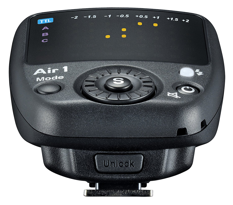 Vista trasera emisor Nissin Air 1