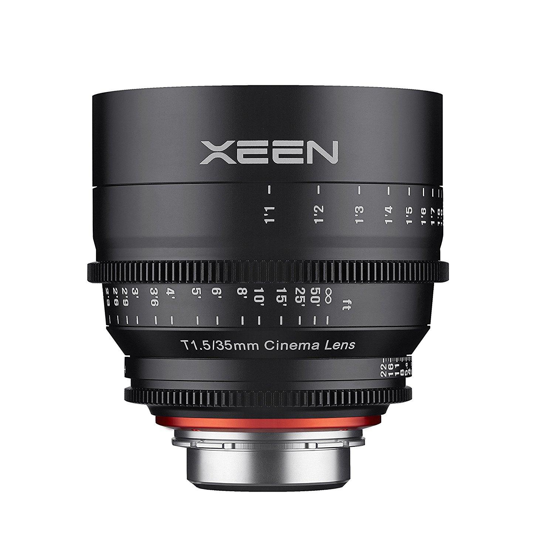 Xeen 35 T1.5 en vertical