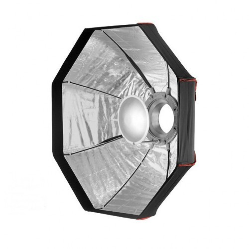 Vista fronta beauty dish 120cm plegable