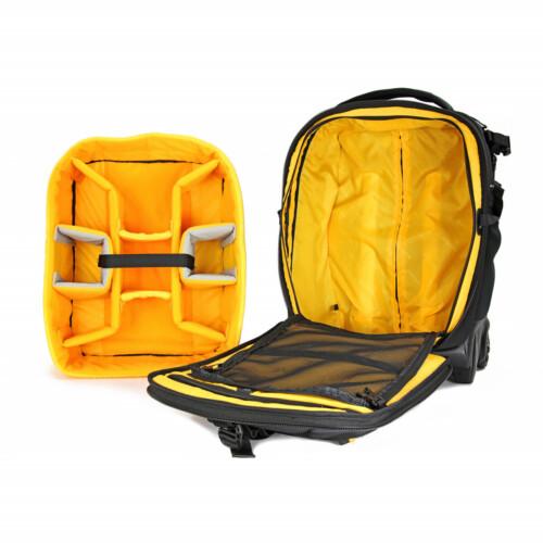 Divisores removibles para utilizar como maleta estándar