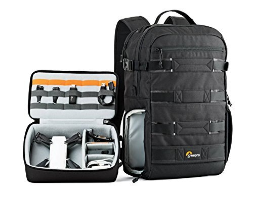 BP 250 AW Viewpoint Lowepro con drone de ejemplo