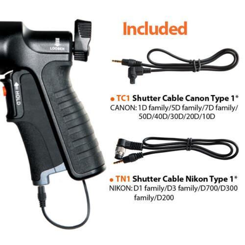 Cables incluidos Canon y Nikon