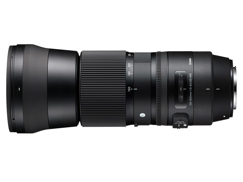 Sigma 150-600 Contemporary vista horizontal