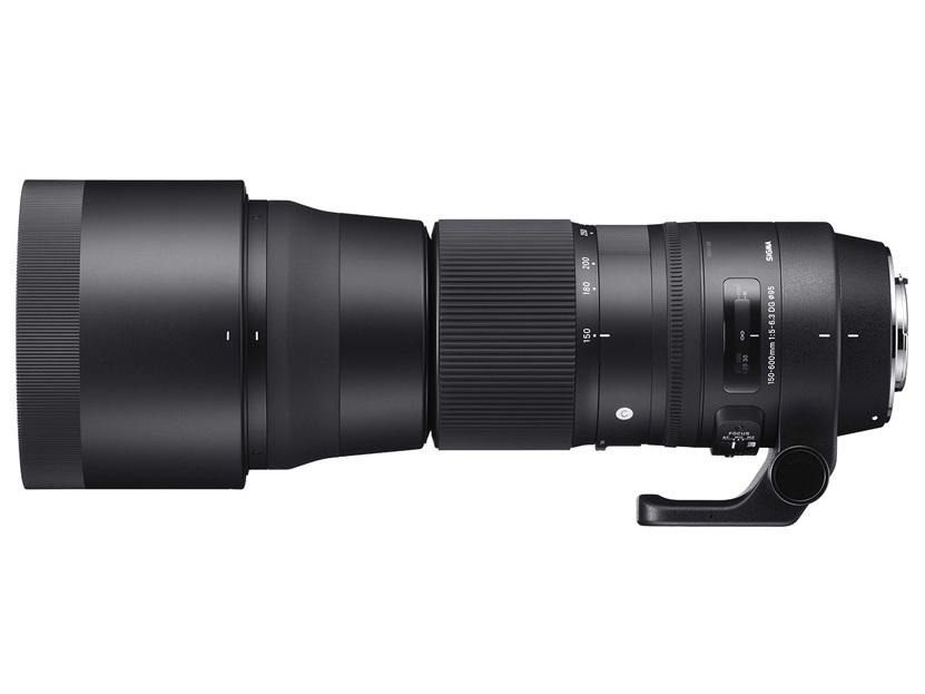Sigma 150-600mm F5-6.3 DG OS HSM Contemporary con parasol