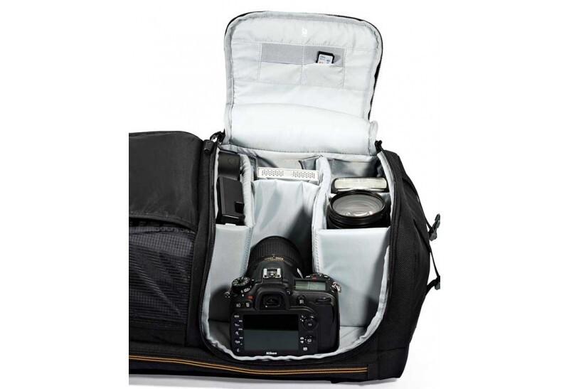 Acceso bolsillo dedicado fotografía y video