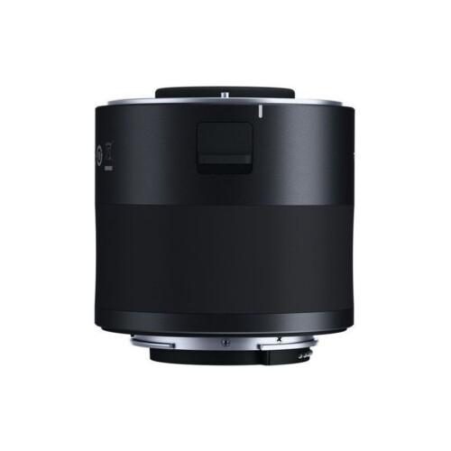 Teleconvertidor Tamron x2 para Canon vista lateral