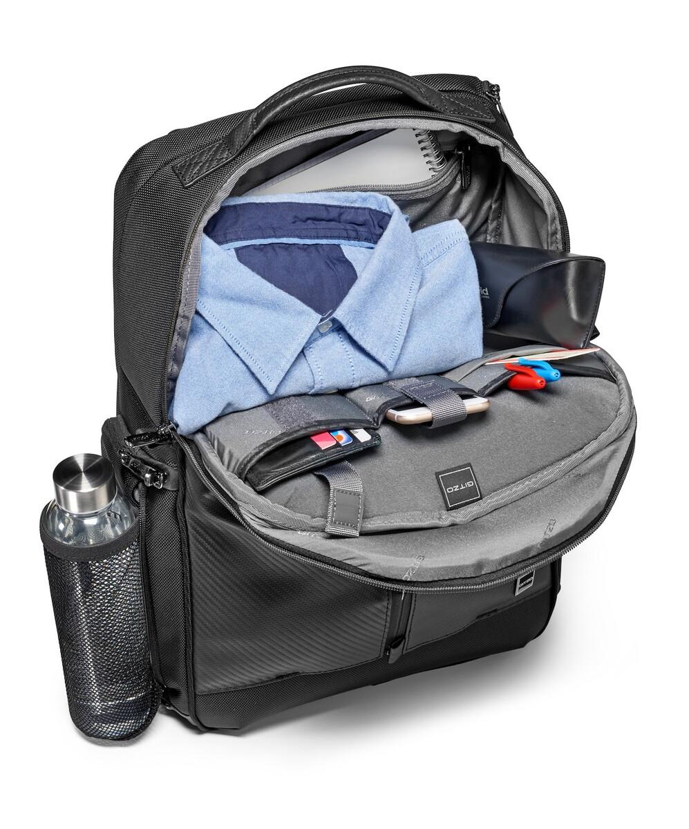 Interior bolsillo superior mochila bp Gitzo century traveler bp