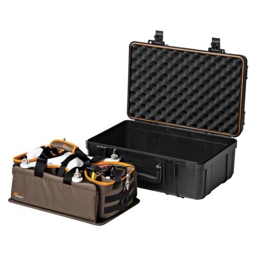 Muestra maleta y extraíble incluido en el kit