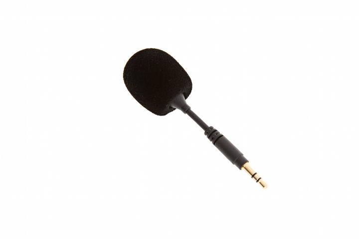 Vista en diagonal micrófono DJI FM-15