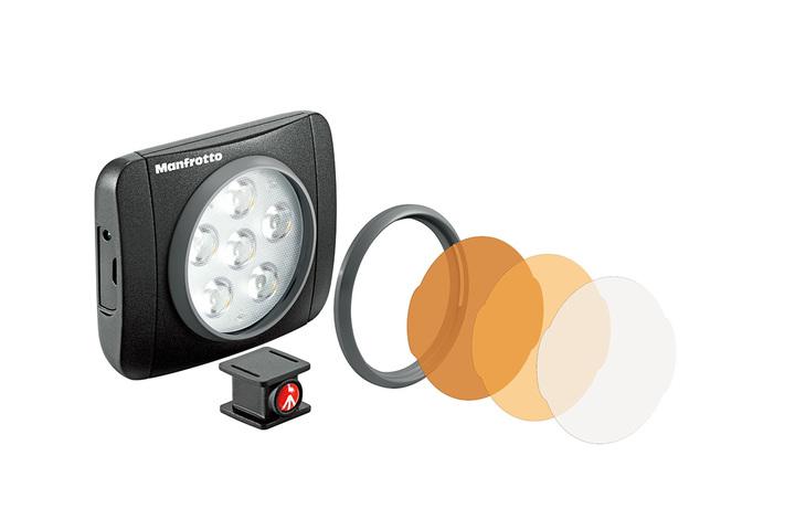 Lámpara led y filtros incluidos