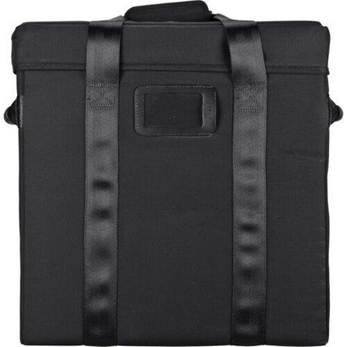 Vista trasera maleta para pack de estudio